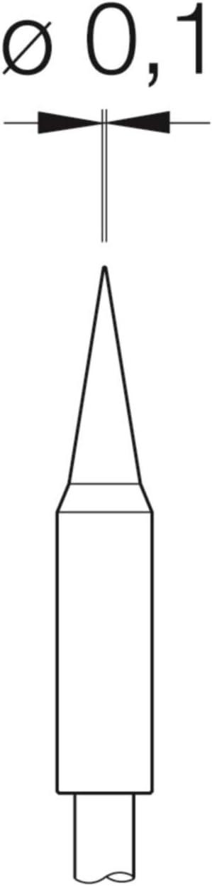 JBC Souder Série c115 c115212//2 klingenform 5 x 0,3 mm précisément