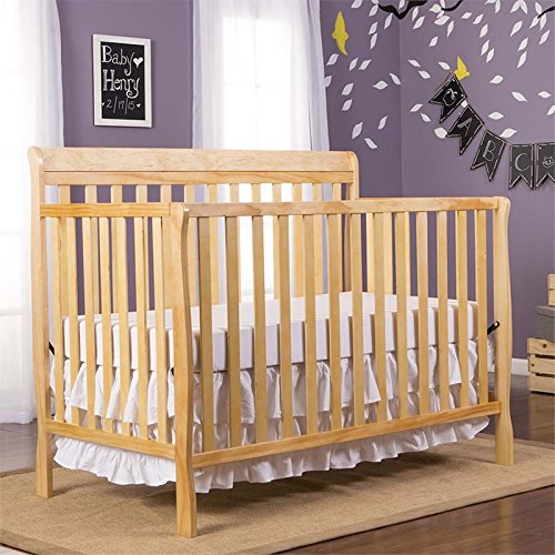 Lifestyle 4in 1 Crib (Dream On Me Alissa Convertible 4 In 1 Crib, Natural)