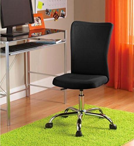 Mainstays Desk Chair, Multiple Colors Black