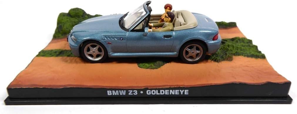 BMW Z3 James Bond 007 GoldenEye 1:43 Diecast Model Car DY009