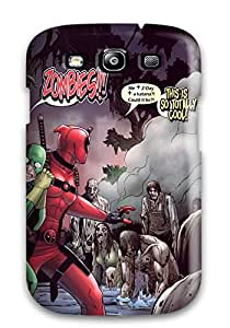 For Josephine Williams Galaxy Protective Case, High Quality For Galaxy S3 Deadpool With Zombies Skin Case Cover