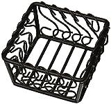 American Metalcraft BSB53 Baskets, 5'' Length x 5'' Width, Black