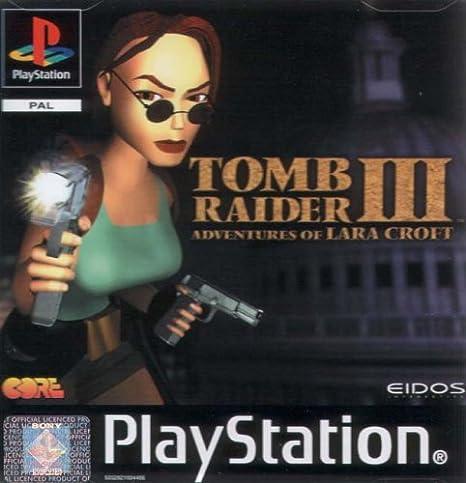 Playstation 1 - Tomb Raider 3: Amazon.es: Videojuegos