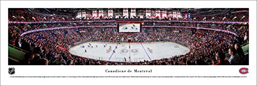 fan products of Montreal Canadiens - Center Ice at Bell Center - Unframed Blakeway Panoramas NHL Poster