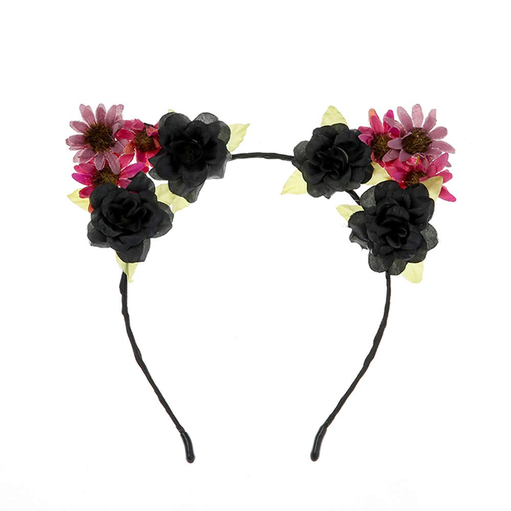 Boho Ladies Floral Flower Festival Wedding Garland Perfect Head Band Beach Party