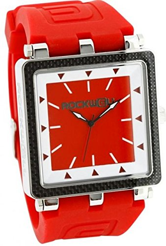 Rockwell Time Men's CF Red Case/White Dial Watch by Rockwell Time