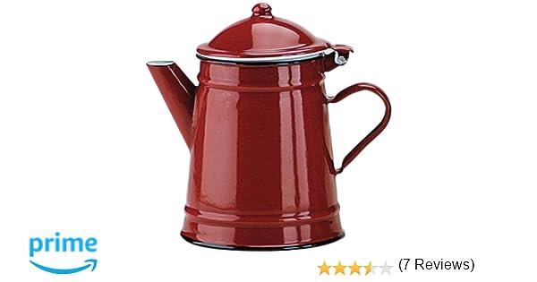 IBILI 910210 - Cafetera Conica Roja 1 LTS.: Amazon.es: Hogar