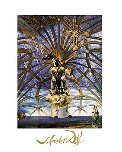 (Posters: Salvador Dali Poster Art Print - Santiago El Grande (12 x 9 inches))