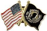 US Flag Store US and POW MIA Lapel Pin