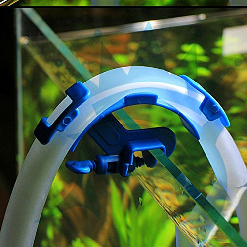 Aquarium Filter - Aquarium Filtration Hose Holder Water Pipe Filter Fish Tank Firmly Hold Fixing Clamp - Replacement Quite Output Submersible 200 Canister Penguin Impeller Jbl Unit