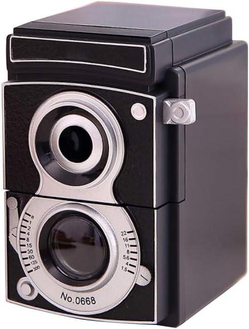 Retro Vintage Camera Style Pencil Sharpener Mechanical Manual Hand Cranking New