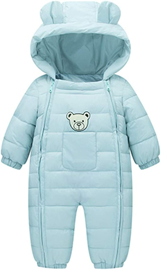 Culater Grils Bambini Maschi Simpatici Pagliaccetti Bear ❤️❤️ Giacca Invernale Spessa Capispalla Cotone Caldo Abbigliamento