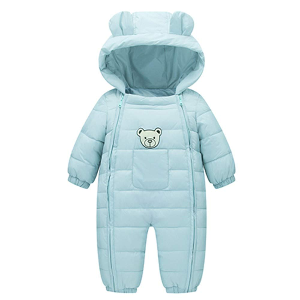 Baby Clothes Set, Newborn Baby Boys Girls Kids Rompers Winter Thick Cotton Warm Clothes Jumpsuit+Christmas Pents Set G-real