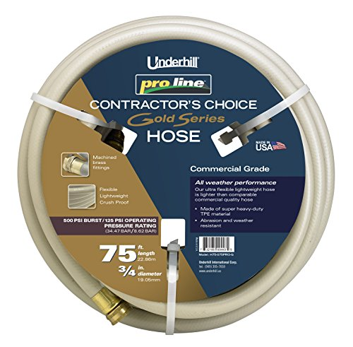 Underhill 3/4'' Proline Gold Series Hose 75' Length by Underhill