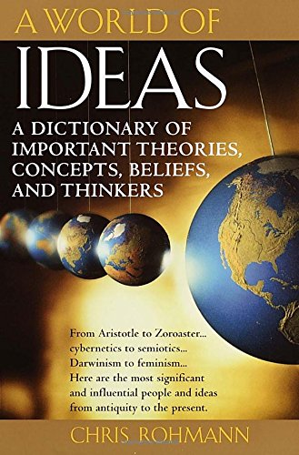 Used, A World of Ideas : The Dictionary of Important Ideas for sale  Delivered anywhere in USA