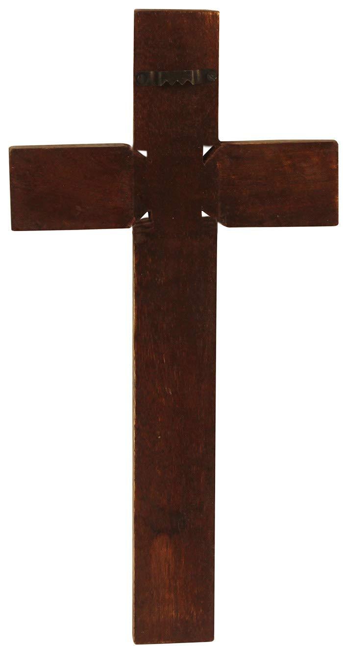 Amazon.com: Wooden Celtic Hold Land Hanging Cross Handcarved ...