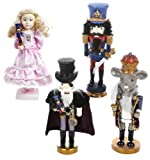 Kurt Adler 12'' Hollywood Nutcracker Suite Set of 4