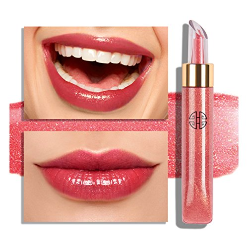 Gloss Lip Cherry Sheer (Eve by Eve's Golden Rouge Natural Ingredients Tube Lip Gloss Luster - Scented with Rose Honey Extract)
