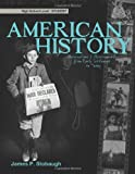 American History-Student, James Stobaugh, 0890516448