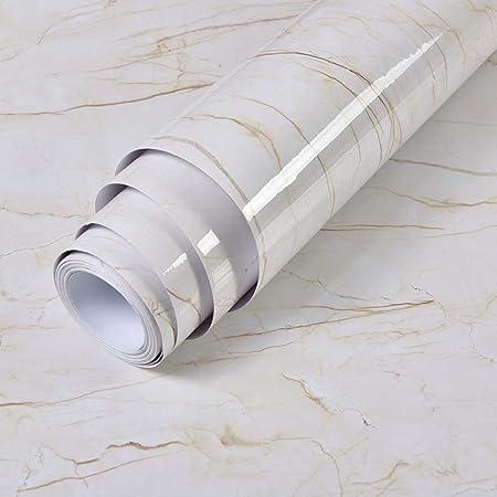 lsaiyy Pegatinas de mármol Grueso Autoadhesivo Impermeable PVC ...
