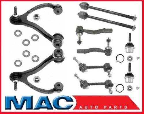 Mac Auto Parts for 03-11 Lincoln Town Car 100% New Control Arm 10Pc Suspension Kit All New