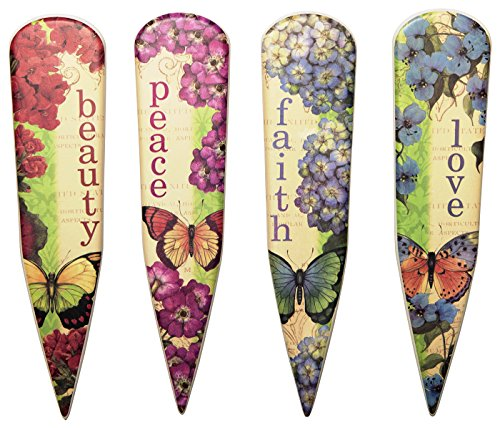 cr-gibson-eden-porcelain-garden-stakes-multicolor-set-of-4