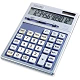 Sharp HO EL2139HB 12 Digit Solar and Battery powered Calculator With Puctuation