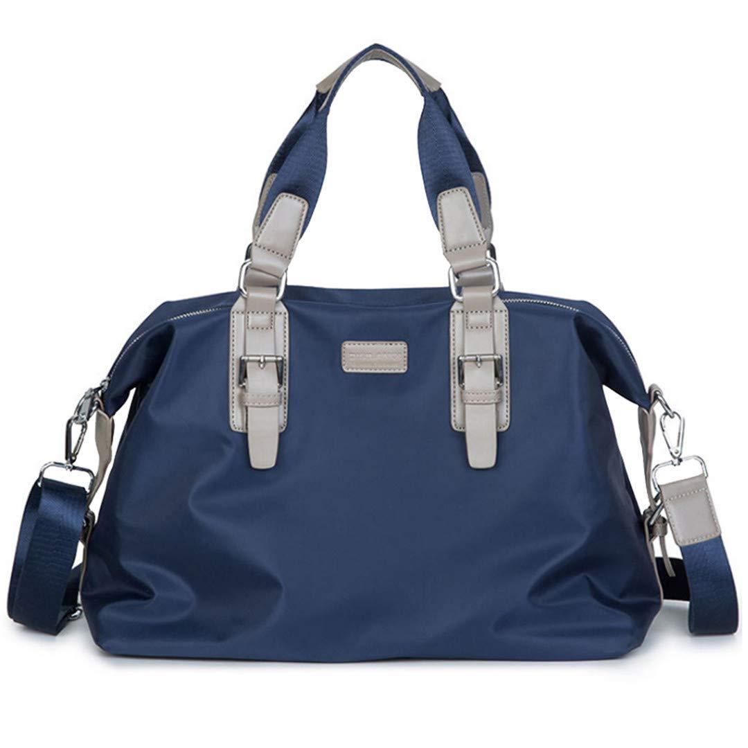 Outdoor Men Sports Gym Bag Large Multifunctional Travel Yoga Handbag Waterproof Sports Training Luggage Shoulder Bag Blue
