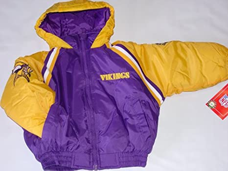 new product ea7c6 3ca34 Amazon.com : Outerstuff NFL Minnesota Vikings Kids Jacket ...