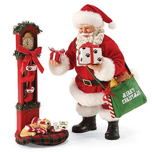 Department 56 Possible Dreams Santa Claus Waiting For Santa Clothtique Christmas Figurine