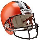 NFL Cleveland Browns Replica Full Size Helmet, Medium, Black/Orange
