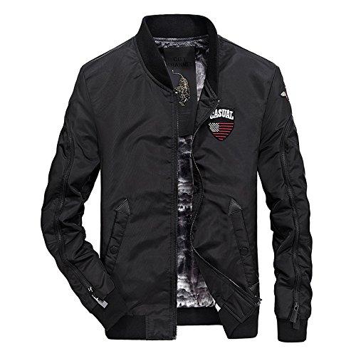 capa casual una chaqueta Series hombres Hombres a béisbol rápido de secado en 66058 L hombres hombre creativa los chaqueta y Black ZtYWtHFq