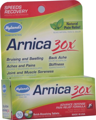 Hylands Arnica 30x 50 Tablets product image