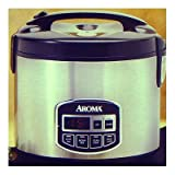Aroma ARC-960SB 10-Cup Sensor Logic Rice Cooker & Food Steamer