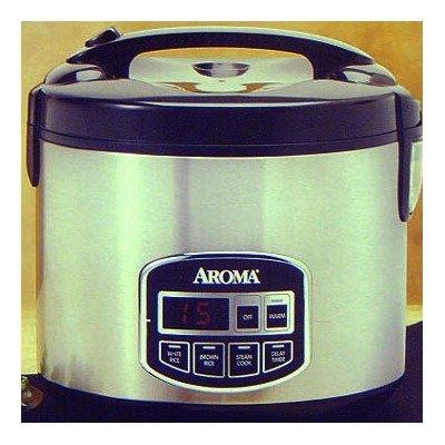 Aroma ARC-960SB 10-Cup Sensor Logic Rice Cooker & Food Steam