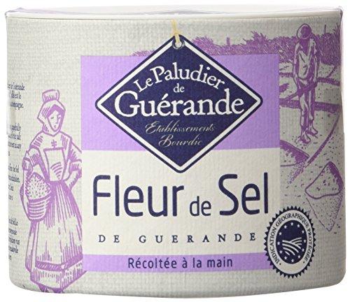 - The French Farm Fleur de Sel de Guerande - French finest sea salt Le Paludier 4.4 oz