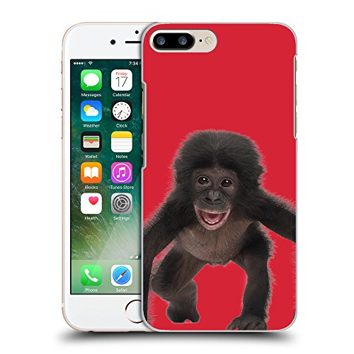GoGoMobile Coque de Protection TPU Silicone Case pour // Q05570601 Bébé bonobo Alizarina // Apple iPhone 7 PLUS