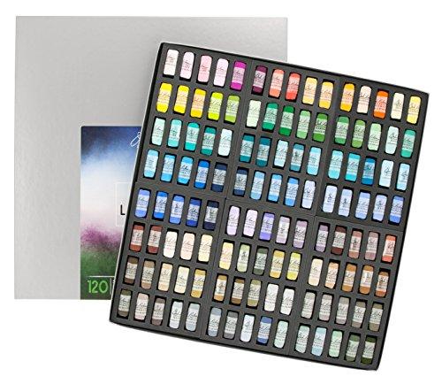 Jack Richeson Hand Rolled Soft Pastels Landscape 4, 120 Piece Set by Jack Richeson