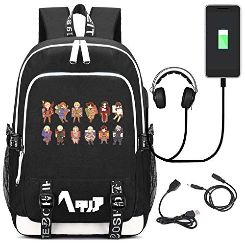Siawasey Anime Axis Powers Hetalia Cosplay Backpack
