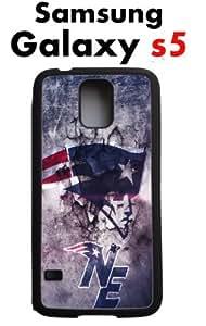 New England Patriots Samsung Galaxy s5 Case Hard Silicone Case by runtopwell