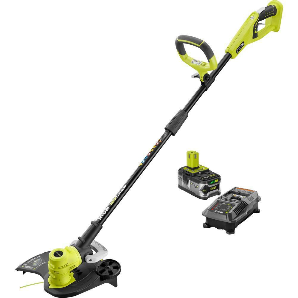 Ryobi P2080 ONE+ 18-Volt Lithium-Ion Cordless String Trimmer/Edger P108 P118 New In Box
