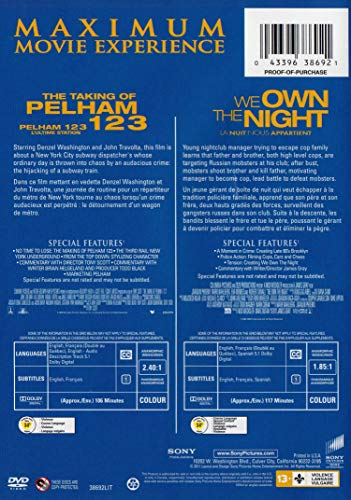The Taking Of Pelham 1 2 3 / We Own The Night (Double Feature)