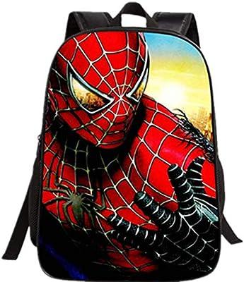Spider Man Children Backpack Cartoon Super Hero Backpack School