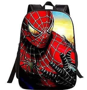 16-inch Spider-Man children casual backpack Cartoon super hero backpack Hero school bag for kids
