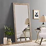 Naomi Home Rustic Floor Mirror Natural/66 x 32'