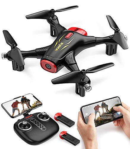 Syma X400 Mini FPV Drones with Camera for Kids and Adults 720P HD WiFi Transmission RC Quadcopter for Beginners with…