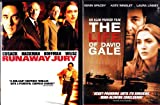 The Life Of David Gale , Runaway Jury : Suspense Thriller 2 Pack