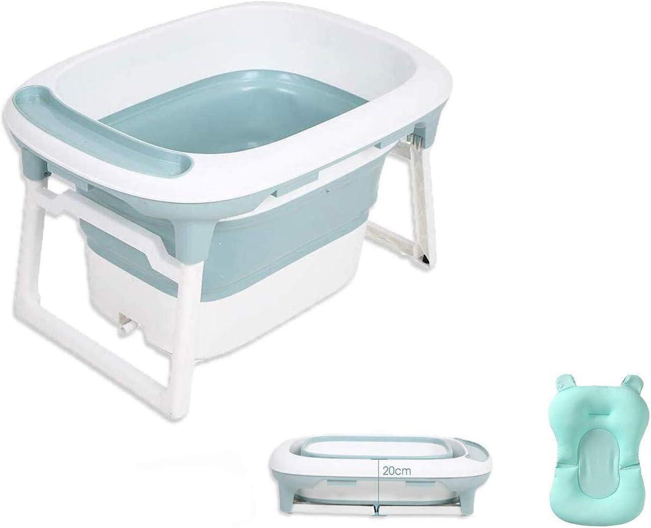 Babify Bañera Bebé Plegable con Cojín Reductor Aqua Plus - De 0 a 8 años.