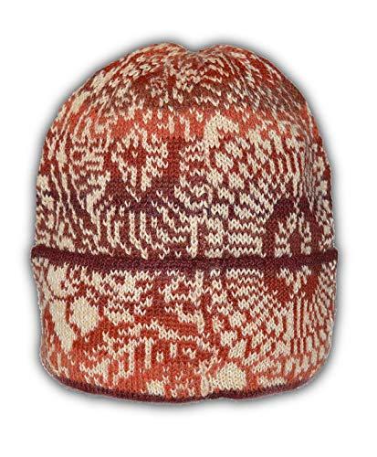 Hat Alpaca Unisex Wool - Invisible World Women's 100% Alpaca Wool Hat Knit Unisex Beanie Winter Elba Md
