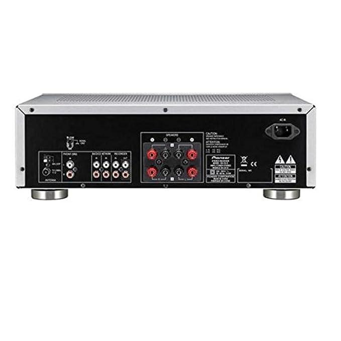 Pioneer SX-20-S Receptor para Equipo de Audio, Plata